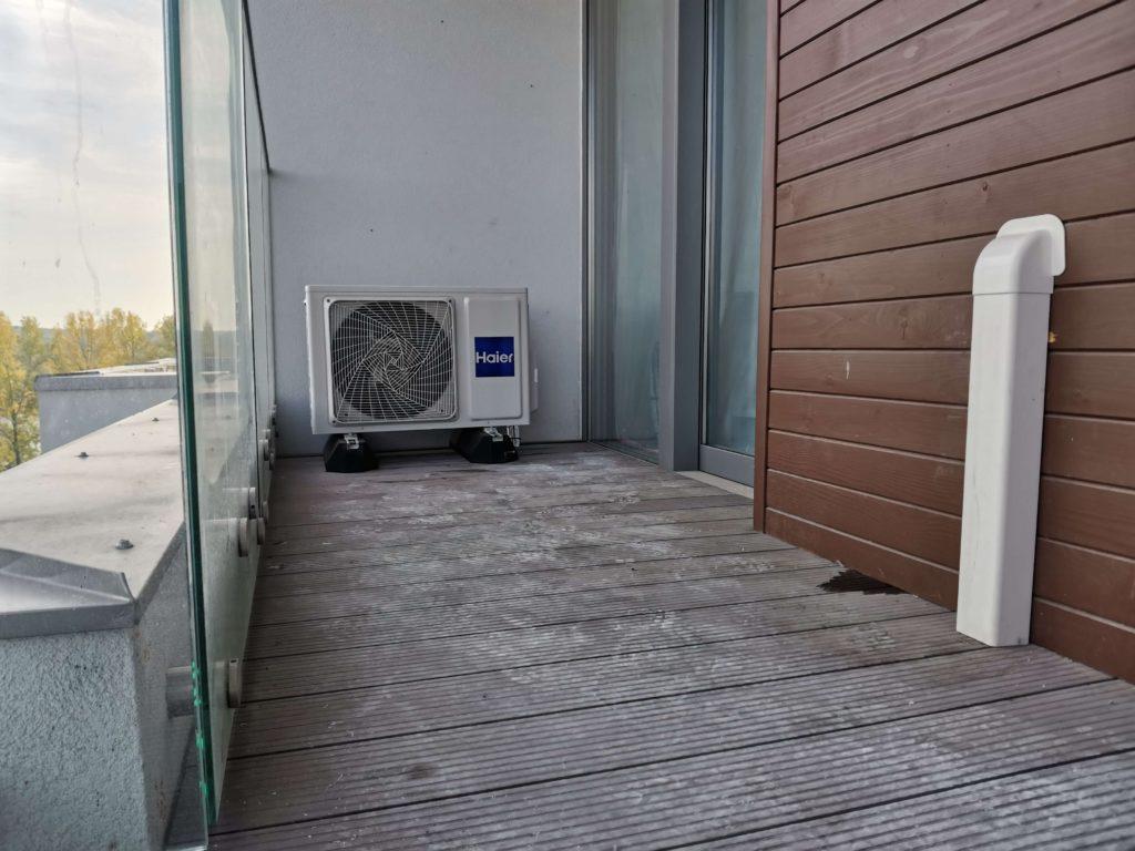 klimatyzator na balkonie katowice